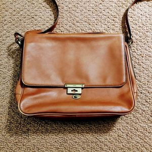 Fossil Leather Purse Crossbody Bag
